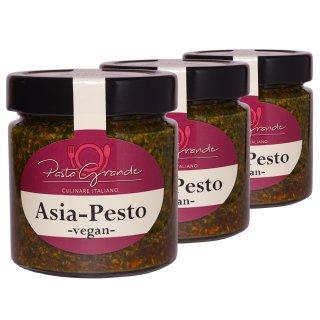 Pesto Asia 3 x 160 g Trippel-Pack
