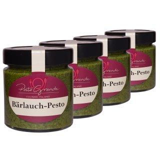 Pesto Bärlauch 4  x 160 g Quadro-Pack