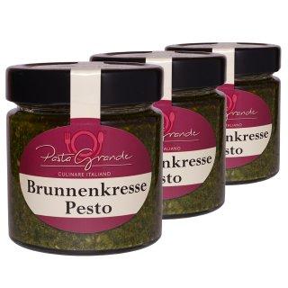 Pesto Brunnenkresse 3 x 160 g Trippel-Pack