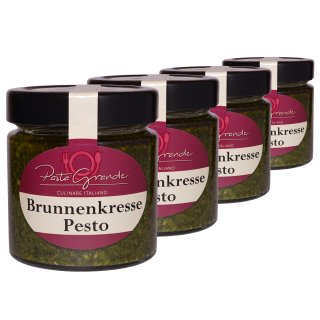 Pesto Brunnenkresse 4 x 160 g Quadro-Pack