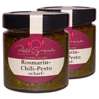 Pesto Rosmarin-Chili 2 x 160 g Duo-Pack