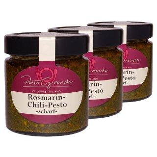Pesto Rosmarin-Chili 3 x 160 g Trippel-Pack