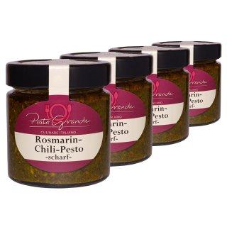 Pesto Rosmarin-Chili 4 x 160 g Quadro-Pack