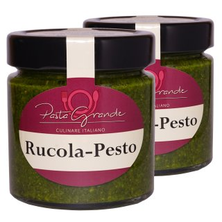 Pesto Rucola-Mandel 2 x 160 g Duo-Pack