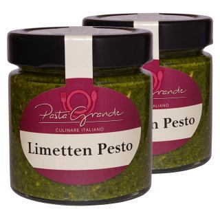 Pesto Limette 2 x 160 g Duo-Pack