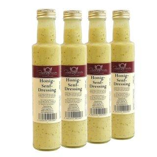 Dressing Honig-Senf 4 x 250 ml Quadro-Pack