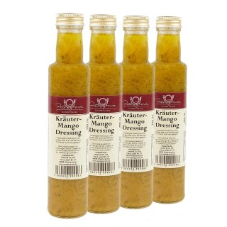 Dressing Kräuter-Mango 4 x 250 ml Quadro-Pack