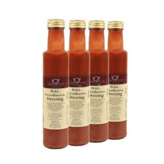Dressing Wild-Preiselbeere 4 x 250 ml Quadro-Pack