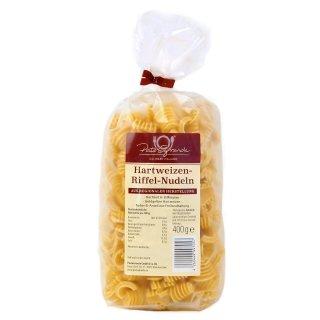 Hartweizen Riffel-Nudeln 400 g